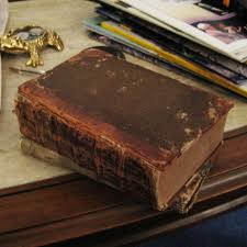 old book binding by hamish m