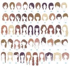 好きな女性女子の髪型は Character Design2019 髪型 一覧