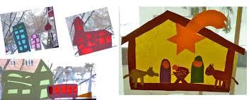 Basteln Zu Weihnachten Fensterbilder Mit Transparentpapier
