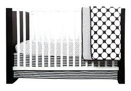 black and white polka dot crib bedding black and white crib skirt dots pin stripes black