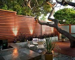 white horizontal wood fence. Wood Fence Deckmaster White Horizontal T