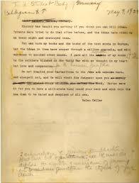 helen keller her scathing letter to german students planning to helen keller letter