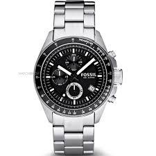 "men s fossil decker chronograph watch ch2600ie watch shop comâ""¢ mens fossil decker chronograph watch ch2600ie"