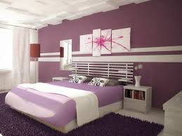Paint Idea For Bedroom Bedroom Painting Pictures With Purple And White For Young Couple