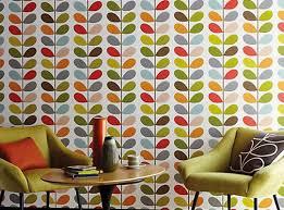 living room orla kiely multi: orla kiely multi stem wallpaper  orla kiely multi stem wallpaper