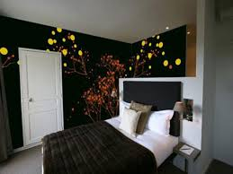 Modern Bedroom Wall Decor Modern Black Wall Interior Paint Designs Bedroom That Can Be Decor