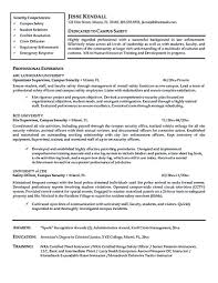 Security Officer Resume Objective Best Of Security Officer Resume