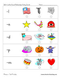 Kindergartners, teachers, and parents who. Student Led Ending Sounds Test Practice Worksheet Have Fun Teaching