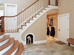 home improvement design. 1.Create A Dog Bedroom Under The Stairs Home Improvement Design