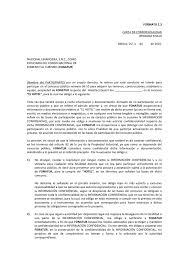 Formato 1 3 Carta De Confidencialidad