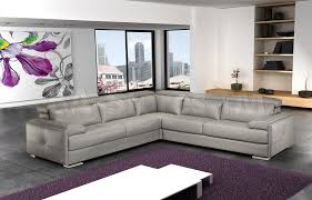 italian leather furniture stores. Gary Ash Gray Italian Leather Sectional Sofa Furniture Stores L