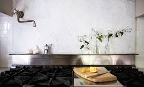 michelle stainless marble backsplash remodelista