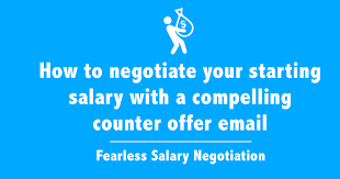 Sample Letter Negotiating Salary In A Job Offer How To Negotiate Salary In 2019 Complete Salary Negotiation Guide