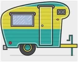 Rv Clipart Good Fifth Wheel Camper Clip Art Sketch Coloring Page
