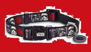Petco Dog Collar Size Chart Wet Nose Designs Star Wars Retro Darth Vader Dog Collar Glow