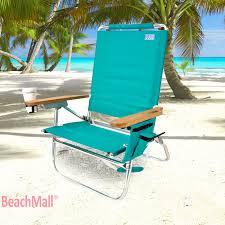 rio brands genuine beach chair w cup holder
