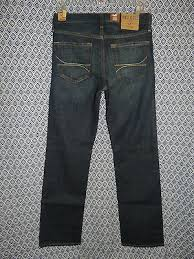 Hollister Jeans Waist Size Chart Hollister Jeans Co Mens Stretch Denim Skinny Leg Blue