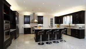modern black kitchen cabinets. Contemporary Maple Kitchen Cabinets In Black With White Granite Countertop And Silver Metal Flat Pulls Modern N