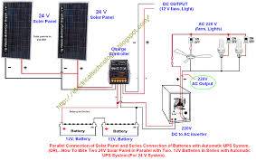 how to wire two 24v solar panels in parallel with two, 12v Solar Panel Setup Diagram how to wire two 24v solar panels in parallel with two, 12v batteries in series with automatic ups system (for 24 v system) solar panel setup diagram pdf
