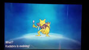 Evolving kadabra and boldore | Pokemon Sun ( alakazam, gigalith) - YouTube