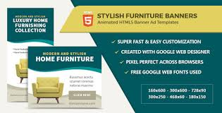 furniture sale ads. Simple Furniture Furniture Home Decor Banner Ads  HTML5 GWD CodeCanyon Item For Sale Throughout A