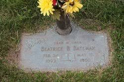 Beatrice Beulah Dillon Bateman (1893-1960) - Find A Grave Memorial
