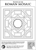 Small Picture Roman Britain Activity Sheets for Kids