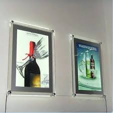 picture frame wall hanging systems pack single sided mounted led art display lighting solutions kids room decor ideas