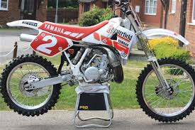 yz250 with parts from oem cycle