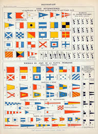 Whilst the phonetic alphabet is by many organisations including the navy, army, police, fire brigade and ambulance services. 1898 1904 Antique Brilliantly Coloured French Etsy Nautical Flags Signal Flags Antique Prints
