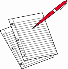 pen and paper writing clipart clipground pen and paper clipart