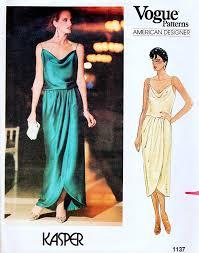 Designer Evening Gown Patterns Amazon Com Vogue 1137 American Designer Misses Evening