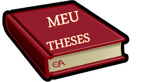 middle east university masters theses