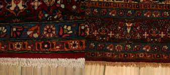 kashan rug repair and clean before and after