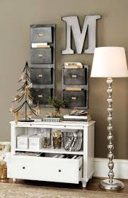 small home office storage. a bookshelf file storage and wall pockets turn small sliver of into home office e