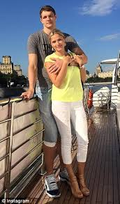 timofey mozgov alla mozgov. Interesting Mozgov They Got Married At The Same Chapel Where Celebrities Including Michael  Jordan Britney Spears And To Timofey Mozgov Alla Y