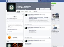 ubm game network gamasutra jobs facebook page