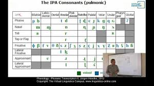 The most common type of phonetic transcription uses a phonetic alphabet, e.g., the international phonetic alphabet. Phy112 Phonetic Transcription Ii Youtube