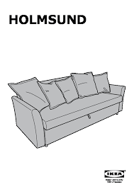 holmsund cover for sleeper sofa