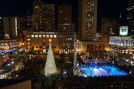 The Beautiful Christmas Lights Road Trip To Take In San FranciscoChristmas Tree In San Francisco