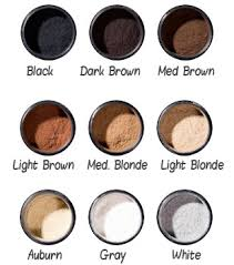 Toppik Color Chart Toppik Reviews How Well Does It Work For Thinning Hair