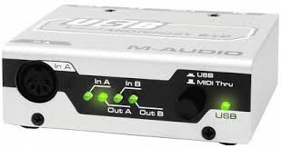 Купить <b>MIDI</b> ИНТЕРФЕЙС <b>M</b>-<b>AUDIO MIDISPORT</b> 2x2 USB с ...