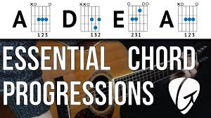 You can use a guitar slide for this one if you want, it adds for a nice effect. Chord Progression Practice A D E A Play Tons Of Songs With 3 Easy Guitar Chords Youtube
