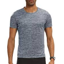 short sleeve t shirt quick dry running fitness shirts athletic tee top exercise undershirt