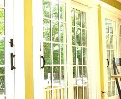 replacing sliding glass door bottom track