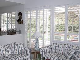 i sliding glass door plantation shutters