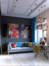Everything About Interior Design Bold Decor In Small Spaces 3 Homes Under 50 Square Meters