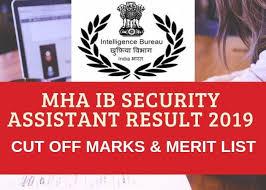 Mha Org Chart Mha Ib Security Assistant Tier 2 Result 2019 Soon Cut Off