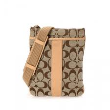 Coach Crossbody Bag. LXRandCo guarantees the authenticity of this vintage Coach  Legacy Signature Swingpack ...