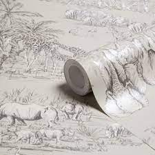 Diy wallpaper, B&q wallpaper, Animal ...